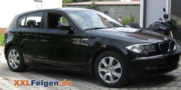 BMW 1er mit DBV Lappland