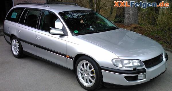 Opel Omega B mit DBV Australia